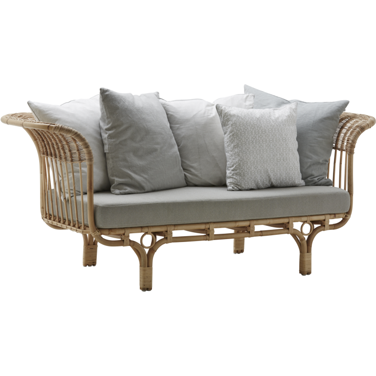 Sika-Design Icons Franco Albini Belladonna Sofa w/ Cushion, Indoor-Sofas-Sika Design-Heaven's Gate Home