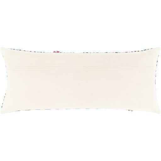 "Surya Phoebe PHB-003 Cotton Global Pillow-Pillows-Surya-Pink-14"" x 32"" Pillow-Heaven's Gate Home"