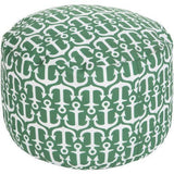 Surya Rain POUF 303-308 Polyester Woven Pouf, Indoor/Outdoor-Poufs-Surya-20