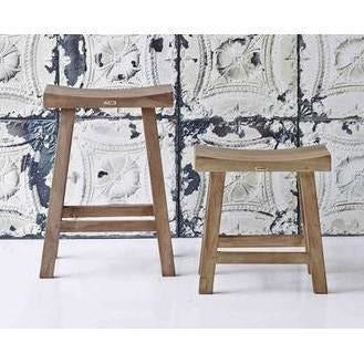 Sika-Design Teak Charles Counter Stool, Indoor-Counter Stools-Sika Design-Heaven's Gate Home