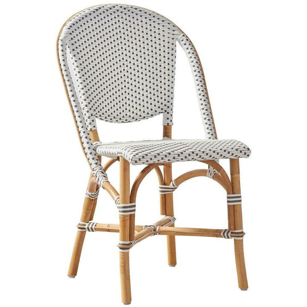 Sika-Design Affaire Sofie Rattan Side Bistro Chair, Stackable, Indoor/Covered Outdoor-Dining Chairs-Sika Design-Heaven