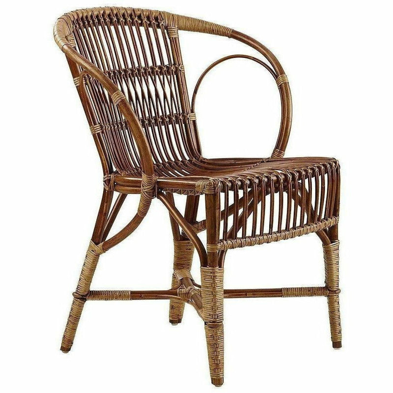 Sika-Design Icons Rattan Wengler Dining Chair, Indoor-Dining Chairs-Sika Design-Polished Antique-Heaven's Gate Home