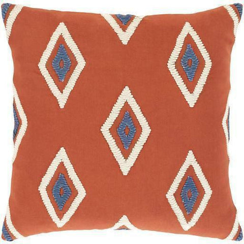 Surya Zulu ZLU-001 Cotton Global Pillow