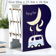 Load image into Gallery viewer, 1PC Kawaii Unicorn Metal Desk Book Holder Retractable Bookends Students Desk Organizer Office School Home Bookshelf Stationery