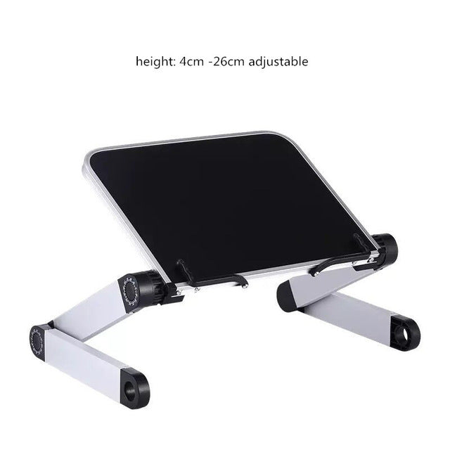 Creative Aluminium Alloy Metal 360 Degree Adjustable Book Reading Shelf Stand Books Reading Bookshelf Laptop Holder Stationery