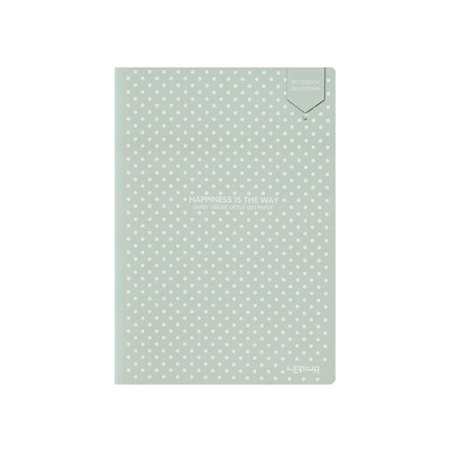 Dotted Bullet Notebook Dot Grid Journal Simple Small Diary Soft Cover Bujo Travel Planner