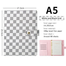 Load image into Gallery viewer, Amazon Hot selling A5 Designed Customized Gold ring binder agenda Journal Diary planner notebooks
