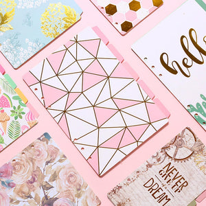 A5 A6 Cute 6 Holes Paper Index Divider for Binder Planner Notebook Stationery,candy Notebook Paper Divider Accessories