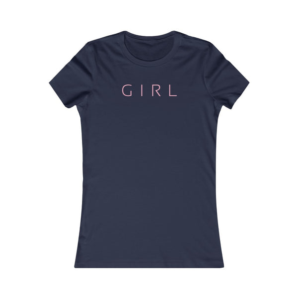The Girl Fitted Tee