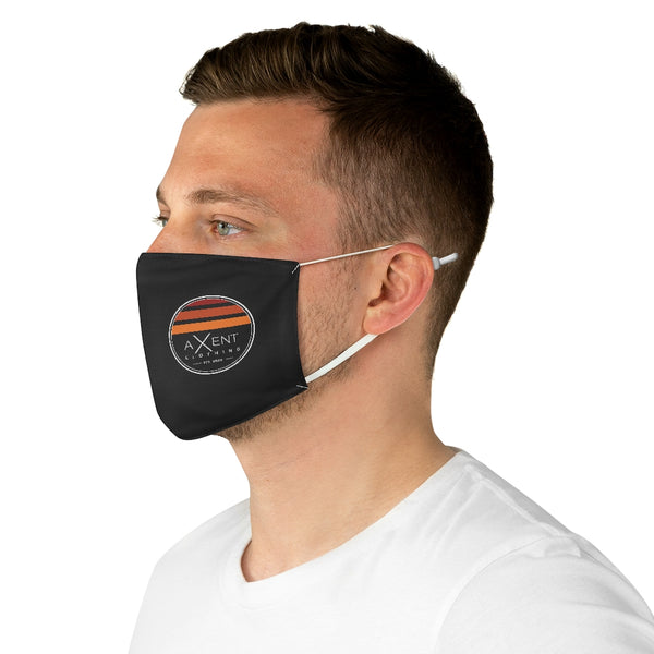 The Sunset Face Mask - Black