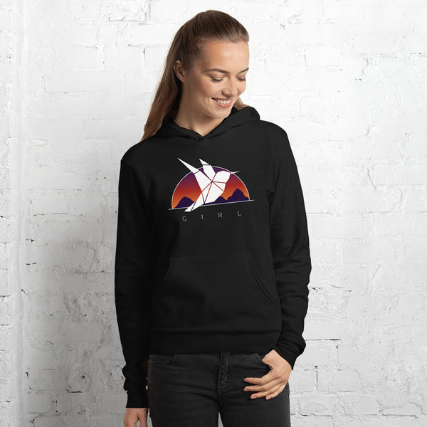 The Girl Sunset Hoodie
