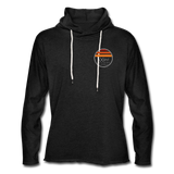 Sunset Hoodie - charcoal gray