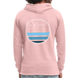 California Coast Hoodie - cream heather pink