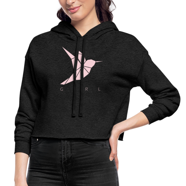Hummingbird Hoodie - deep heather