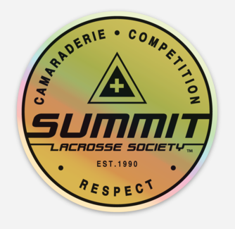 Summit Society Holographic Sticker