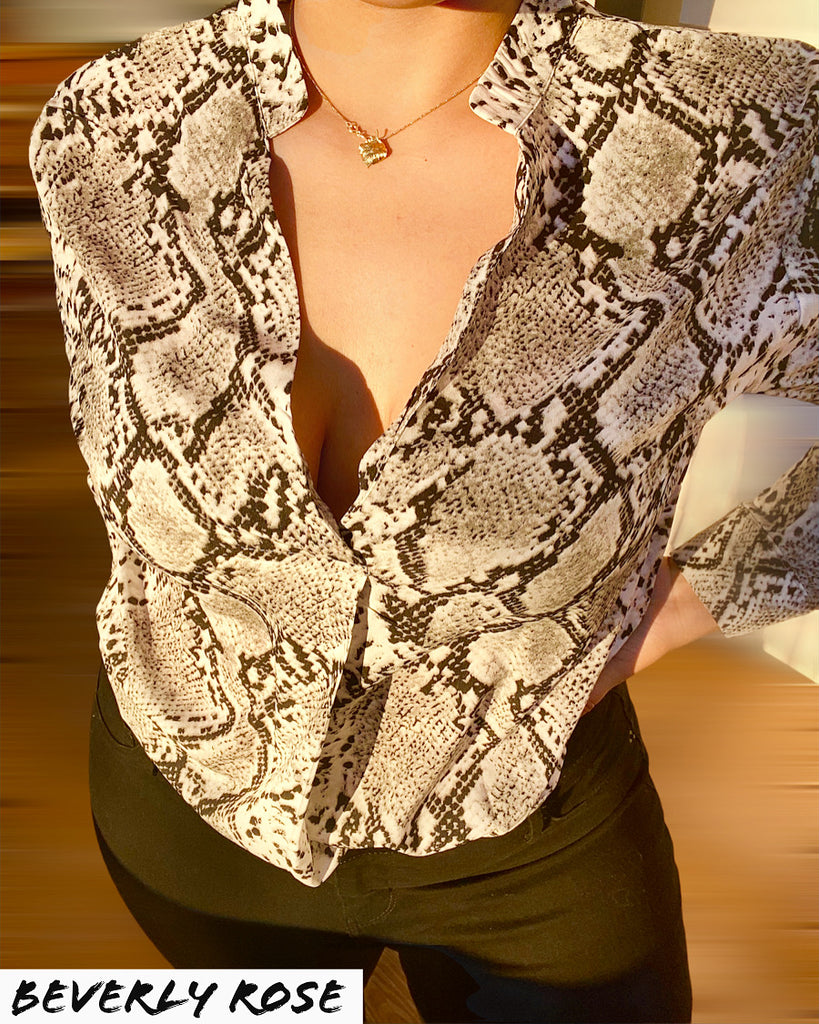 Limited Edition Python Holiday Top