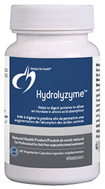 Hydrolyzyme™, 60 capsules per bottle
