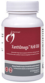 XanthOmega Krill Oil 60 softgels