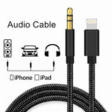 3.5mm Audio Cable iPhone Audio Adapter for iPhone XS Max/XS/XR/iPhone X/iPhone 8/8Plus/7/7Plus Compatible with Car Aux/Home Stereo/Headphone