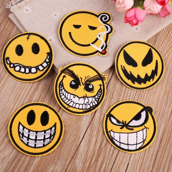 Iron On Patches Sew On Patch Embroidered Badge for Jeans Caps Bags Backpack Jacket