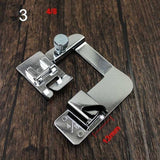 7 Sizes Rolled Hem Pressure Foot Sewing Machine Presser Foot Hemmer Foot for Brother Singer