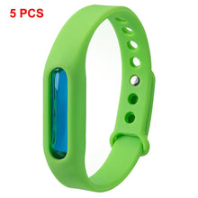 Load image into Gallery viewer, 5pcs Mosquito Pest Insect Bugs Repellent Repeller Wrist Band Bracelet Wristband
