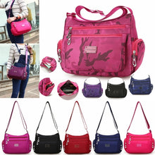 Load image into Gallery viewer, Women's Waterproof Messenger Bag Large Capacity Travel Single Shoulder Bag