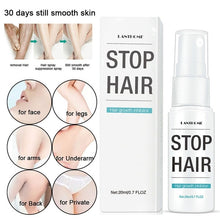 Load image into Gallery viewer, 20ml Hair Removal Spray Hair Growth Inhibitor for Women Men
