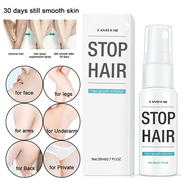 20ml Hair Removal Spray Hair Growth Inhibitor for Women Men