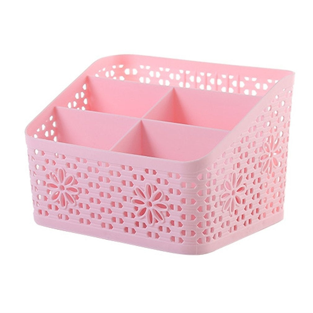 Creative Cosmetic Organizer Desktop Box Multifunction Plastic Makeup Cosmetic Organizer Home Room Storage Box Case  BY