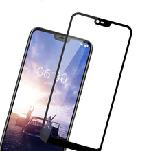 Load image into Gallery viewer, Full Tempered Glass Screen Protector For Nokia 4.2 3.2 8.1 7.1 6.1 5.1 3.1 2.1 7 Plus 1 2 3 5 6 8 9 PureView X5 X6 X7 2018  Full Coverage Screen Protector