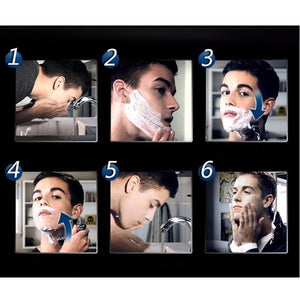 High quality 5-layer razor frame combination brand new upgrade men's razor blade 5PCS / 9PCS / 13PCS / 17PCS / 21PCS