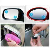 Wide Angle Round Car Rearview Mirror Car Reversing Auxiliary Mirror Car Blind Spot Mirror