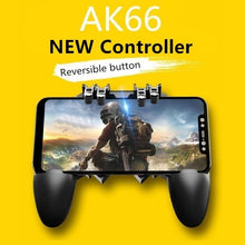 Load image into Gallery viewer, AK66 Six Finger All-in-One Mobile Game Controller  Key Button Joystick Gamepad L1 R1 Trigger