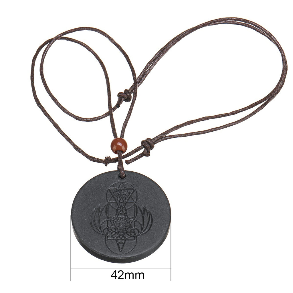 Quantum Scalar Energy Pendant Negative Ions Magnetic Health Protection Necklace