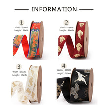 Load image into Gallery viewer, Forbidden City Series Satin Ribbon - Gift Wrapping Sewing Fabric Ribbon - 16mm * 5 Yards