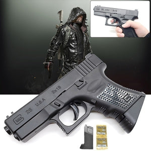 2019 Outdoor Manual Shooting Toy BB Gun Toy Child CS Battle Toy Gun with Silicone Soft Pellets