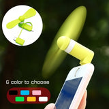 Mini Portable Cool USB Fan Mobile Phone Gadget Tester For iphone for Android