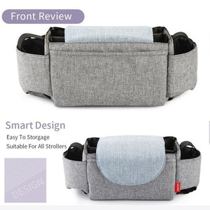 2019 New Universal Stroller Organizer Bag Diaper Bag Cup Holder for Cool Parents