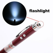Load image into Gallery viewer, 6 In 1 Multifunctional Pen Touch Screen&Writing Extendable Teaching Pen With Powerful Flash Light&Laser Pointer