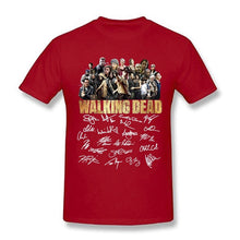 Load image into Gallery viewer, The Walking Dead Signature Lovers T Shirt Black Cotton Men and Women