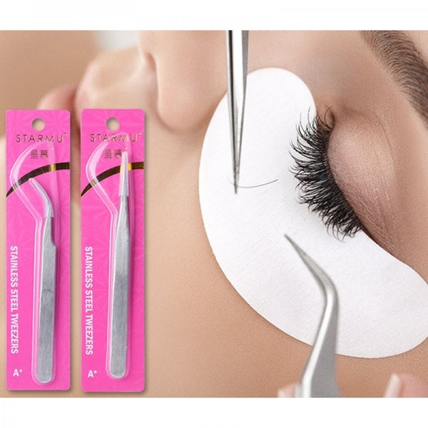 17/22Pcs Mannequin Makeup Training False Eyelashes Extension Practice Kits Tool