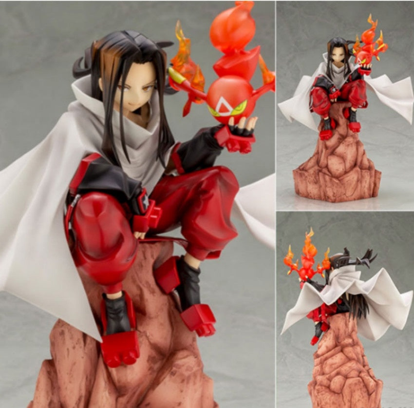 Kawaii Shaman King Yoh Asakura 1/8 Scale PVC Action Figure Collection Model Doll