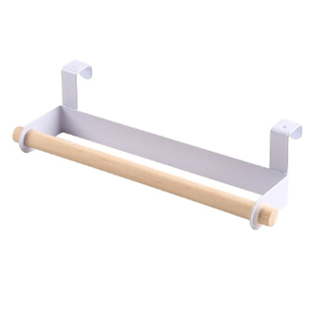 Towel Holder Hanging Kitchen Roll Paper Storage Organizer Rack Tissue Hanger 9.06'x2.56'x3.54'