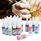 7/10/20/25Pcs Tattoo Pigment Set Kits Body Art Tattoo Professional Beauty Permanent Tattoo Paints Supplies Tattoo Inks