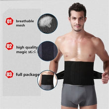 Load image into Gallery viewer, WAIST SECRET Men's Waist Trainer Massage Modeling Strap Men Slimming Body Fitness Shaper Belt