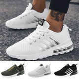 Men Fashion Air Cushion Shoes Lightweight Running Sneakers Breathable Tennis Shoes Mens Trainers Schuhe Chaussures