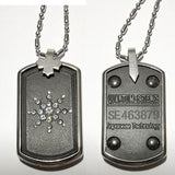 Hot Fashion Anti Radiation Orgon Energy Neg Ions EMF Protection Powerful Scalar Bio Energy Quantum Pendant Necklace Magnetic Health Power Chain