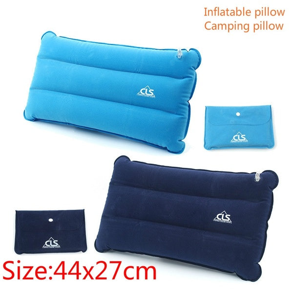 Inflating Travel/Camping PillowsComfortable, Ergonomic Pillow for Neck & Lumbar Support While Camp, Backpacking