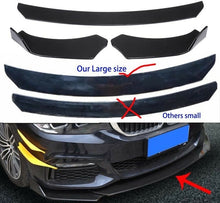Load image into Gallery viewer, Universal Front Bumper Lip Body Kit Spoiler For Honda Civi BMW Audi Benz Mazda